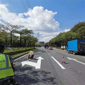 中达交通:划线施工注意事项