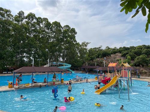 深圳农家乐【乐水山庄】清凉一夏、玩转水上乐园,团建新方式!