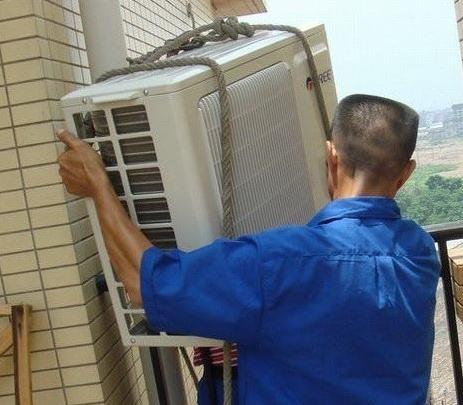 在空调移机的过程中有再次安装的问题