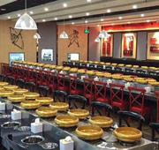 带你看看一套完整的旋转寿司设备...