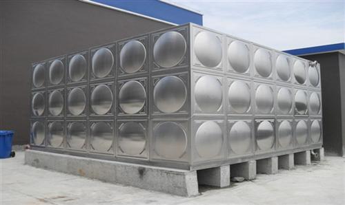 海南不锈钢水箱:给水系统通常由以下几部分组成?