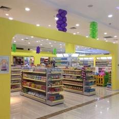 黑龙江七台河孕婴店货架