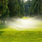 绿化草坪喷灌