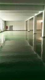 安远第二期1.8万平方环氧地坪漆工程