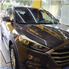 Hyundai car after using liquid glass coating
