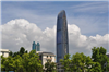 深圳京基大厦(100层景立面观墙全自动微喷系统)