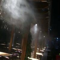 户外露天酒吧餐厅喷雾降温案例