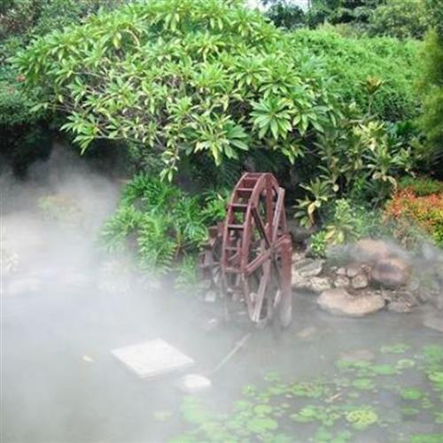 私人别墅造雾工程