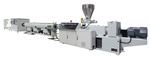 Core layer foaming PVC pipe extruder line