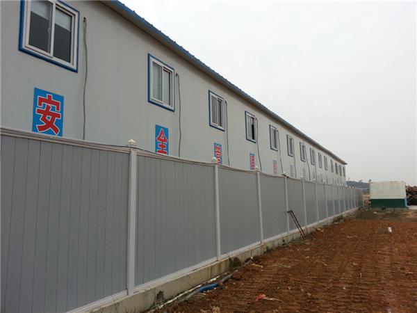 PVC围墙