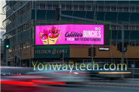 Energy Saving Outdoor Fixed LED For Advertising