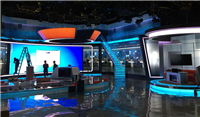 Broadcasting  studio LED videowall solution