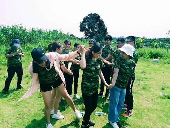 东莞绿野生态园-激情99秒拓展项目
