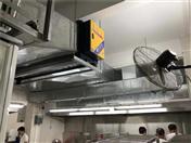 廚房油煙凈化器安裝案例