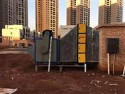 湖南郴州寶藍廣場油煙凈化器安裝圖片