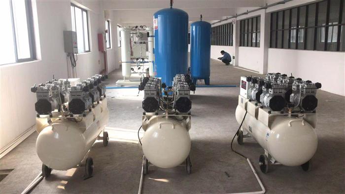 高純度無油制氮系統解決方案