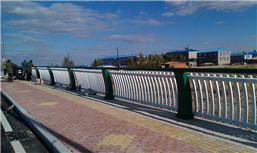 青岛景观河道护栏