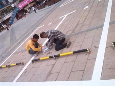 深圳熱熔劃線施工