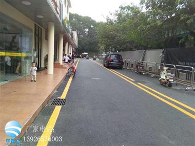 市政交通设施道路划线施工