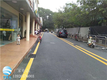 市政交通設施道路劃線施工