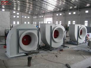 废弃处理工程F4-72玻璃钢离心风机