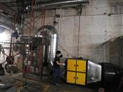 鋁制品壓鑄加工廢氣凈化抽排安裝工程