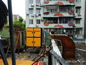 老廣州粵興樓(橋東小區店)低空排放工程實例