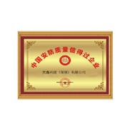 中国安防质量信得过企业