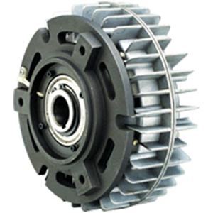 Internal rotation hollow magnetic powder brake