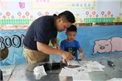 深圳開發孩子動腦能力的地方-深圳市田中園手工DIY工廠提升孩子動腦能力