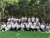 深圳农家乐团队户外活动基地乐水山庄迎来朗俊五金53人组团亲身体验