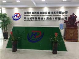 深圳市宏達威表面處理技術公司實驗室工程