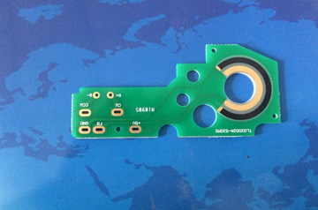 汽车空调执行器碳膜板