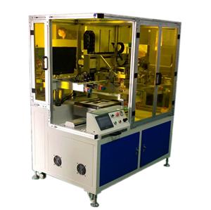 全自动CCD对位印镜片丝印机
