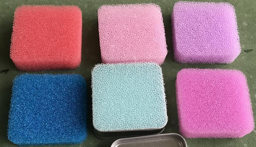 彩色过滤网海绵