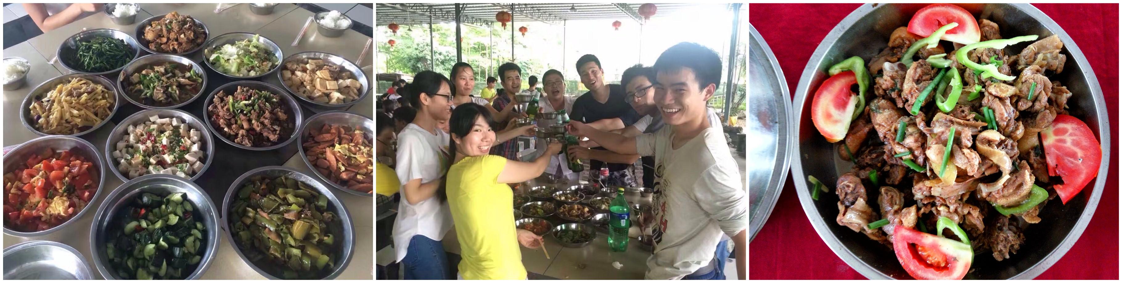 深圳农家乐野炊菜博士农场美食组图