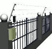商场超市电子围栏