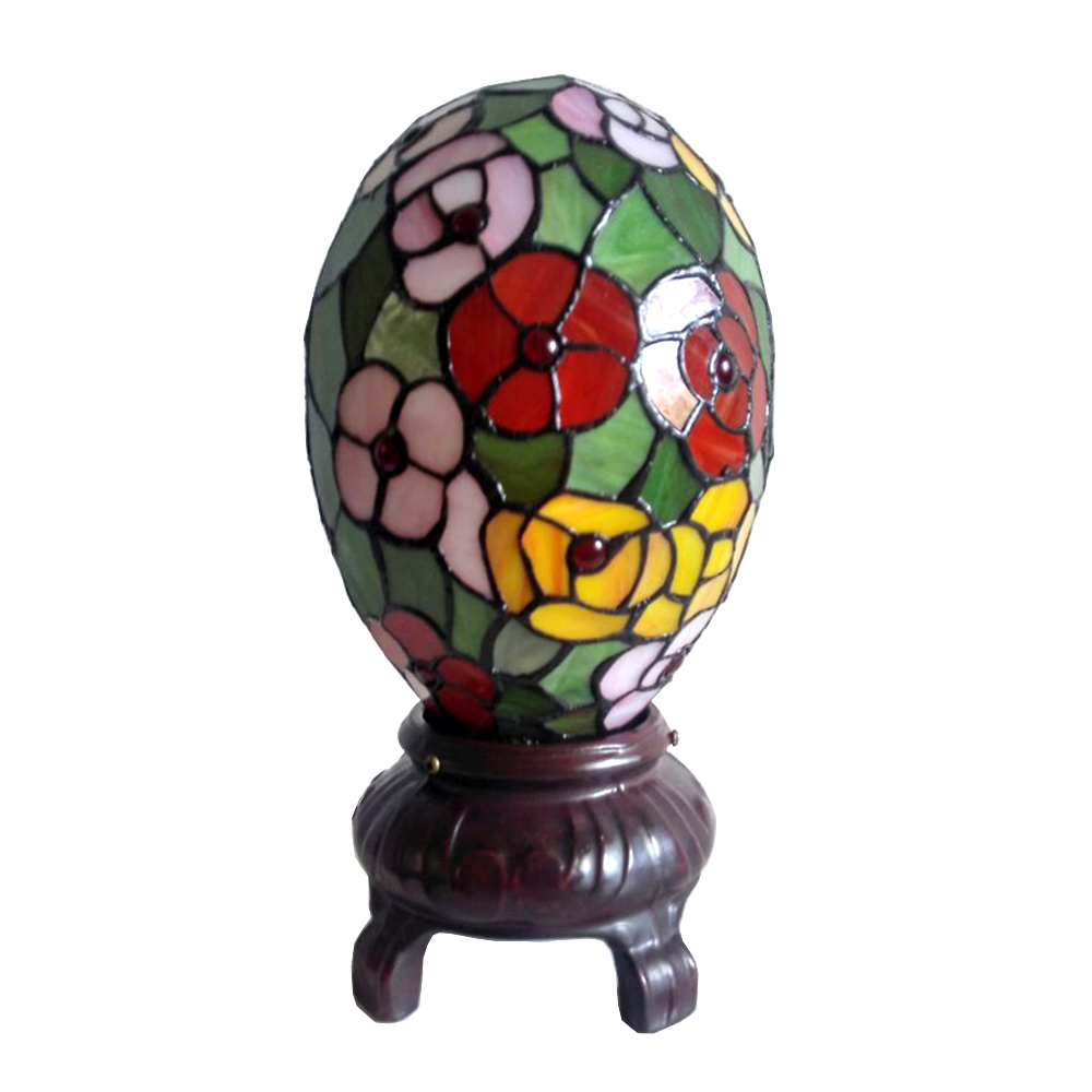 colorful egg lamp