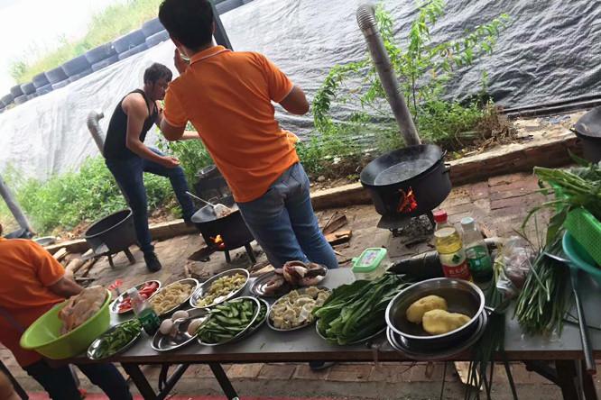 朗俊五金公司户外团体活动项目挑战深圳农家乐野炊