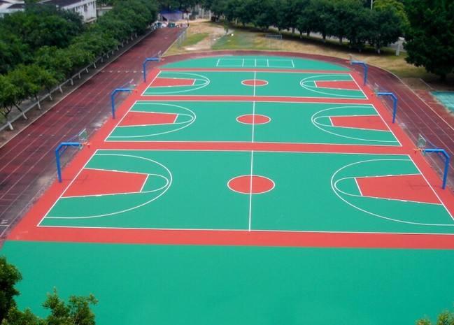 体育场地坪
