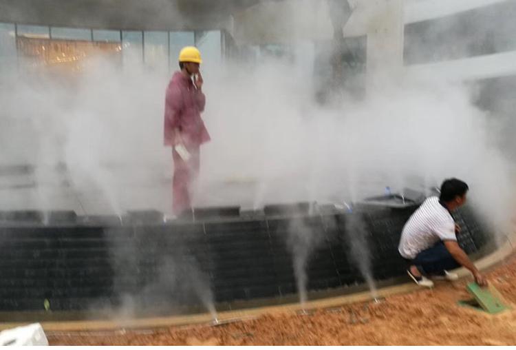 广州·佳兆水池喷雾