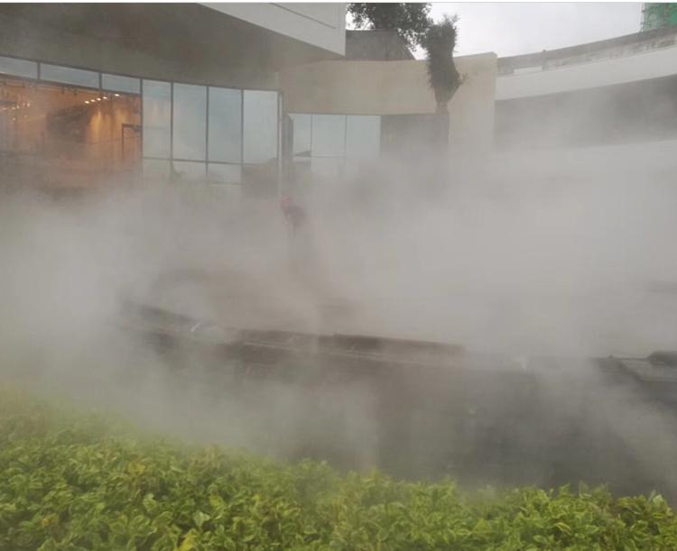 广州·佳兆水池喷雾2
