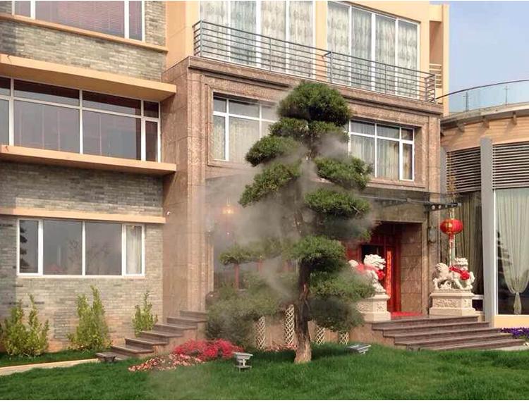 私人别墅造雾工程1