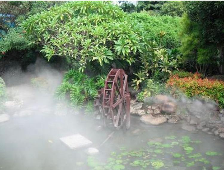 私人别墅造雾工程2