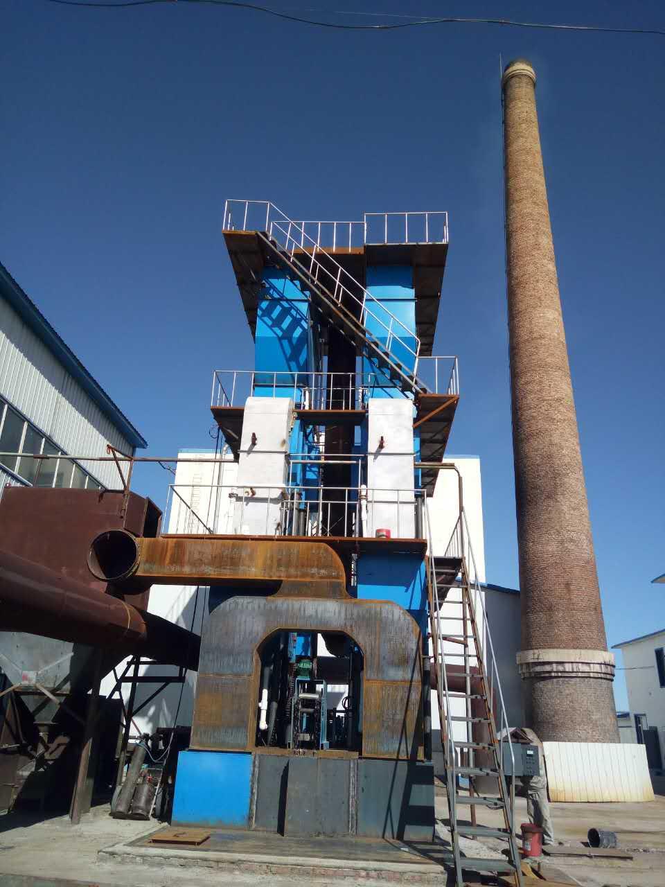 10吨锅炉烟气除尘、脱硫、脱硝除尘器