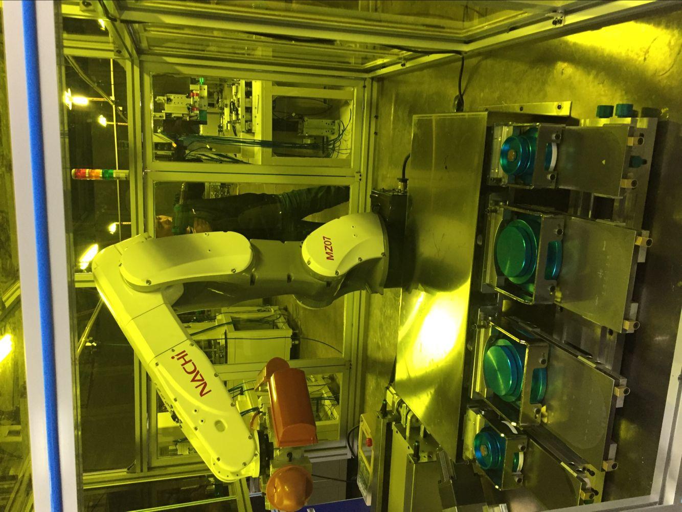 机械手下料全自动移印机