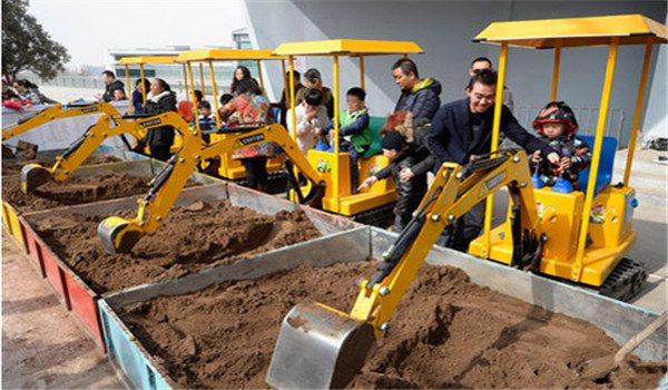 鹰潭儿童挖掘机