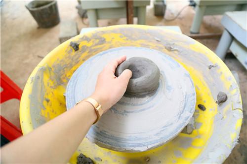 东莞松湖生态园亲子手工DIY活动陶艺