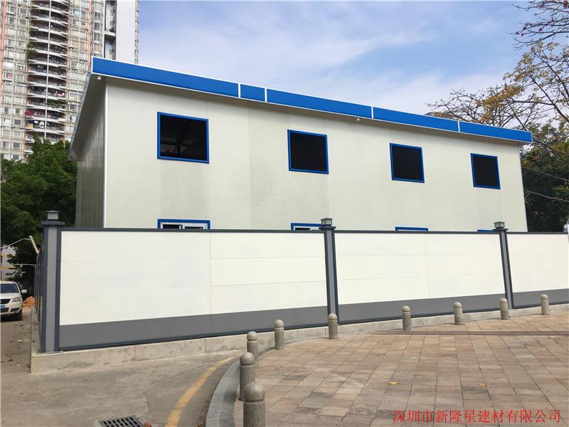 钢结构装配式围墙