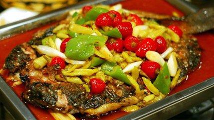五香麻辣味烤鱼1